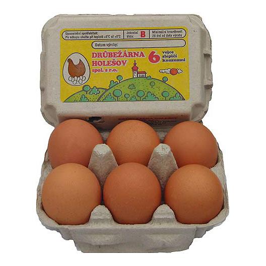 Uložit vejce do lednice je chyba. Ne všechny potraviny tam patří - Drůbežána Holešov